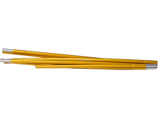 Hilleberg Nallo 4/4 GT/Kaitum 4/4 GT Spare Pole 328cm x 9mm Straight gold